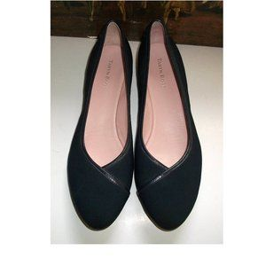 NWOB Taryn Rose Navy Demi-Wedge Comfort Shoes